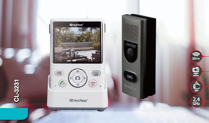 可视门铃CL-3231-wysLink视频专家