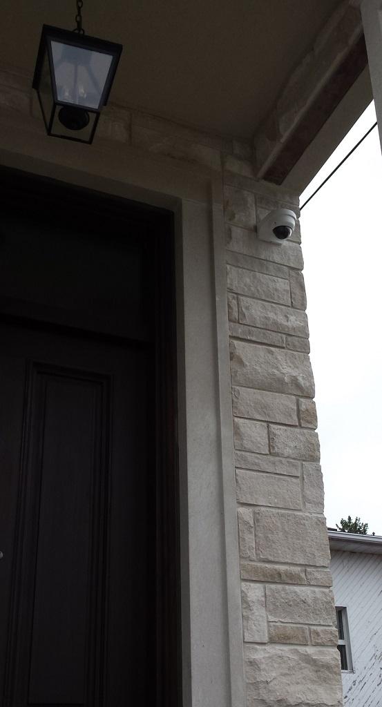 监控相机安装实例
